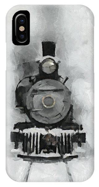Snow Train IPhone Case