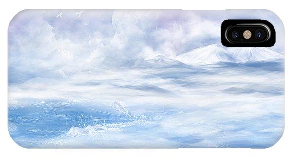 Snow Valley IPhone Case