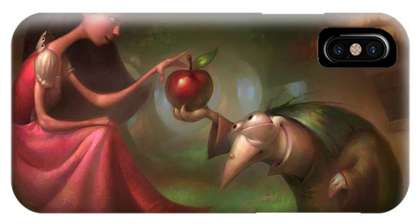 iPhone Case - Snow White by Adam Ford