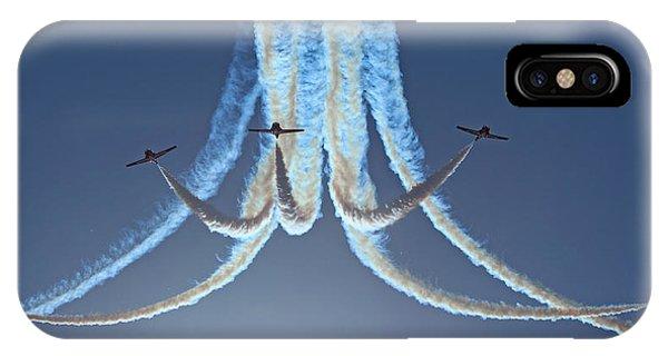 Snowbirds In A Dive IPhone Case