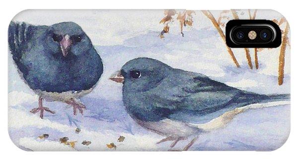 Snowbirds IPhone Case