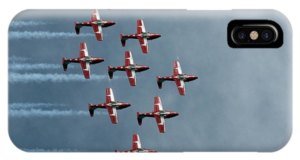 Formation iPhone Case - Snowbirds by Ugur Erkmen