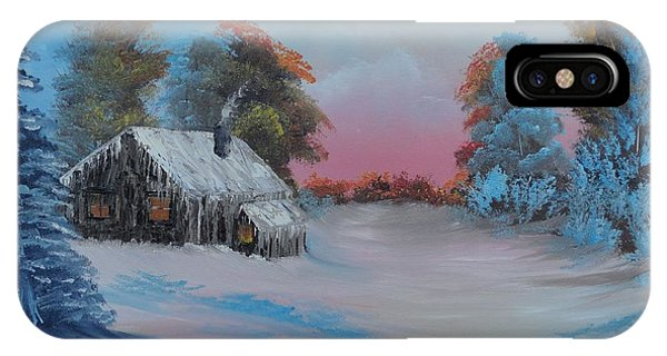 Snowbound.....but Gorgeous IPhone Case
