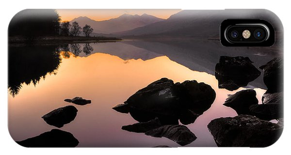 Snowdon At Dusk IPhone Case