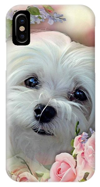 Snowdrop The Maltese IPhone Case
