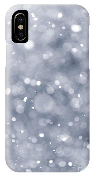 Storm iPhone Case - Snowfall  by Elena Elisseeva