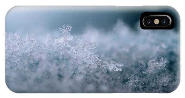 Snowflake Symphony IPhone Case