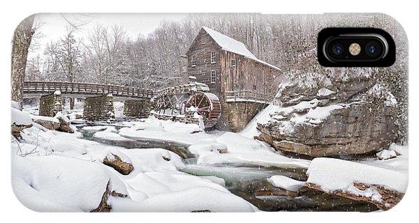 Snowglade Creek Grist Mill 1 IPhone Case