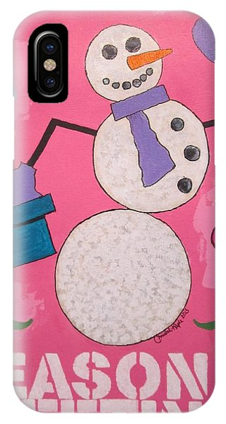 Snowman 2013 IPhone Case