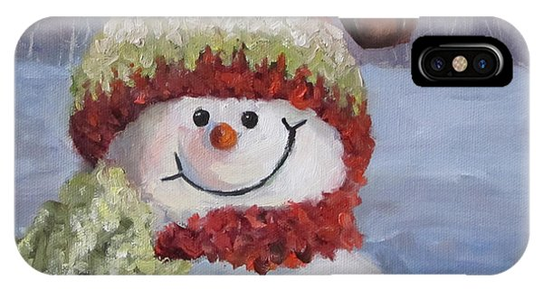 Snowman II - Christmas Series IPhone Case