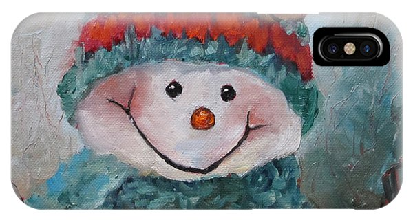 Snowman IIi - Christmas Series IPhone Case