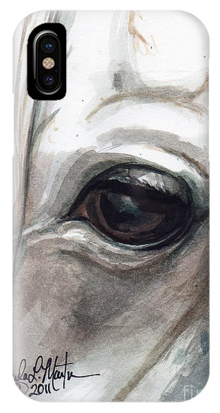 IPhone Case featuring the painting Snowman by Linda L Martin