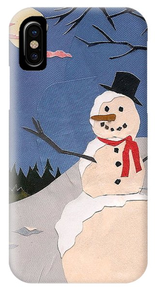 Snowman IPhone Case