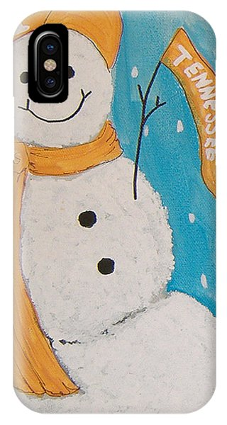 Snowman University Of Tennessee IPhone Case