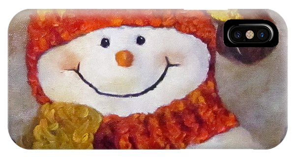 Snowman V - Christmas Series IPhone Case