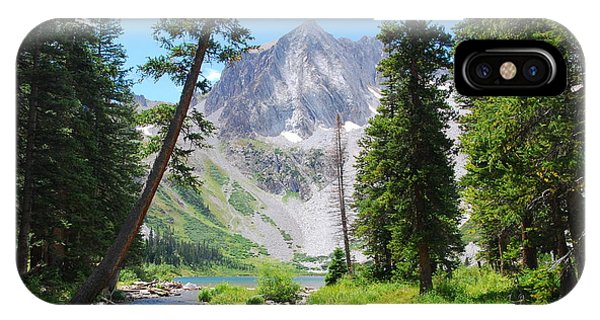Snowmass Peak Landscape IPhone Case