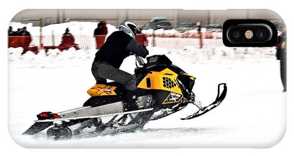 Snowmobile Drags by Don Mann