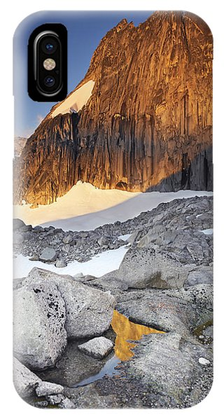 Snowpatch Spire At Sunrise IPhone Case