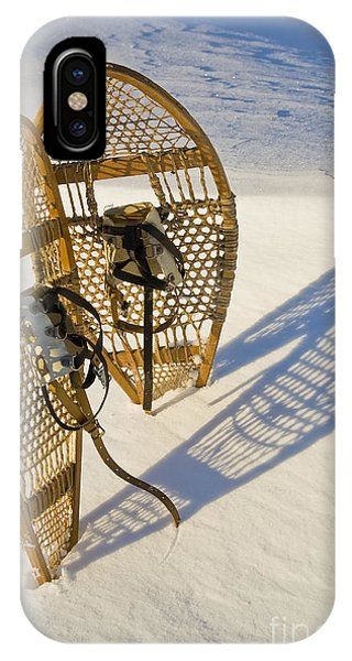 Snowshoes II IPhone Case