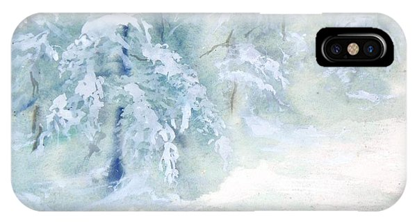 Snowstorm IPhone Case