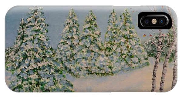 Snowy Day IPhone Case