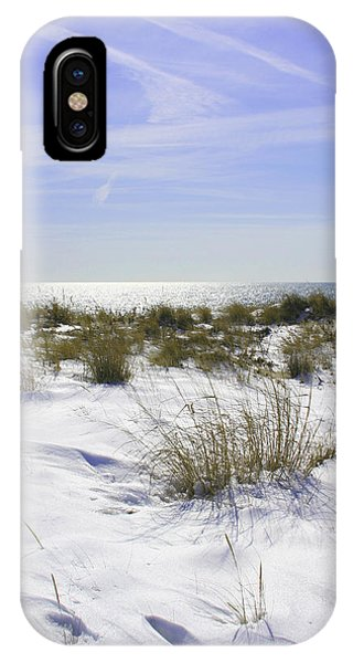 Snowy Dunes IPhone Case