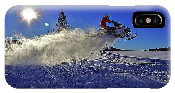 Snowy Launch IPhone Case