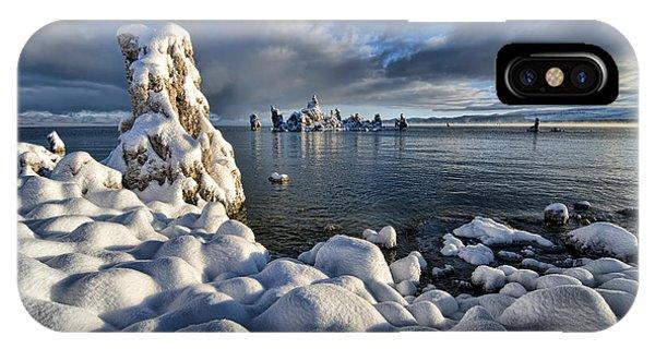 Snowy Mono Lake IPhone Case
