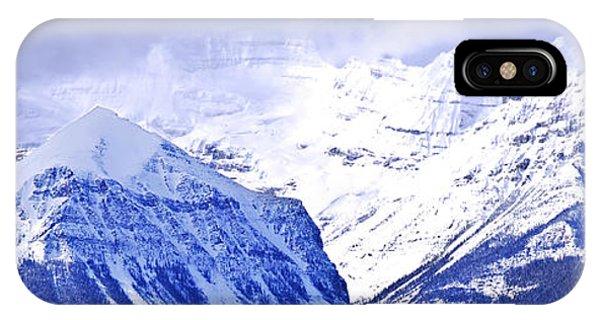 Rocky Mountain iPhone Case - Snowy Mountains by Elena Elisseeva