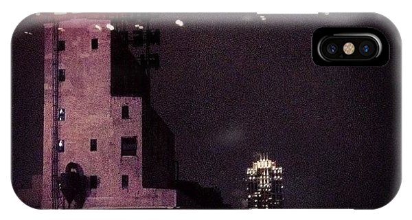 Light iPhone Case - Snowy Night  by Heidi Hermes