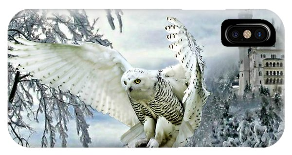 Snowy Owl IPhone Case