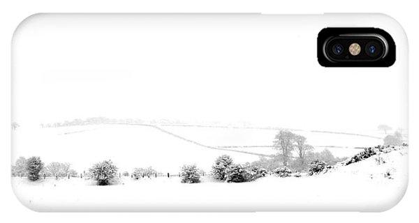 Snowy Panorama IPhone Case