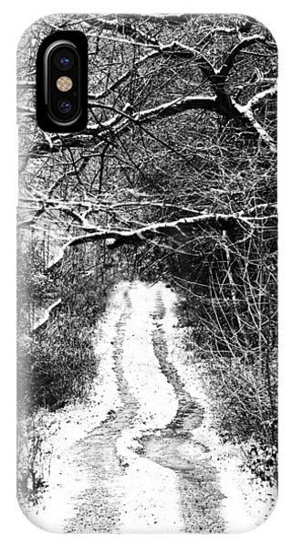 Snowy Path IPhone Case