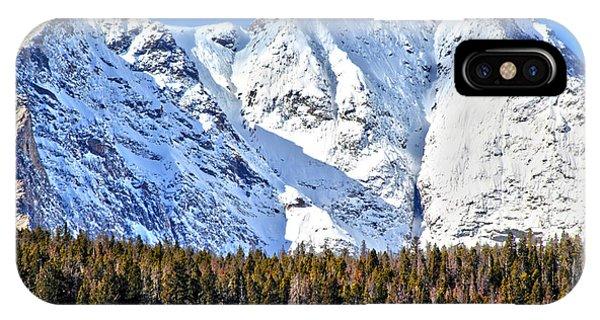 Snowy Ridge IPhone Case