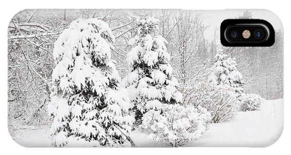 Snowy Snow Storm IPhone Case