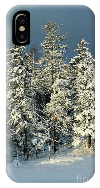 Snowy Sunrise IPhone Case