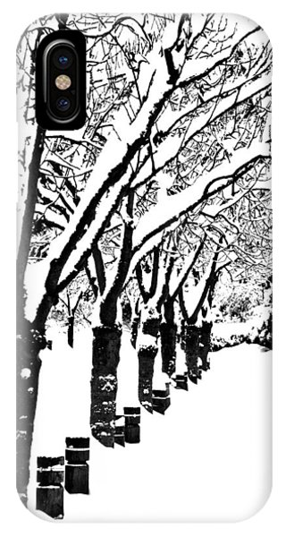 iPhone Case - Snowy Walk by Alicia Kent