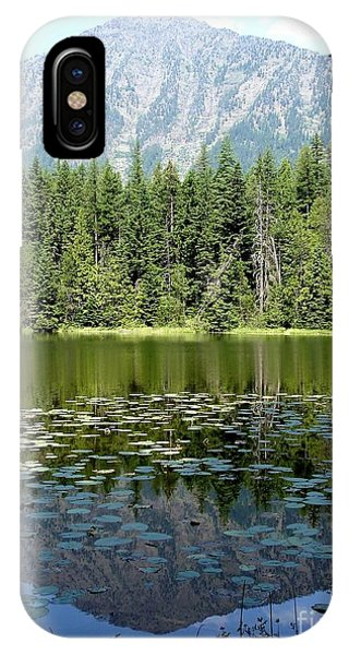 Snyder Lake Reflection IPhone Case