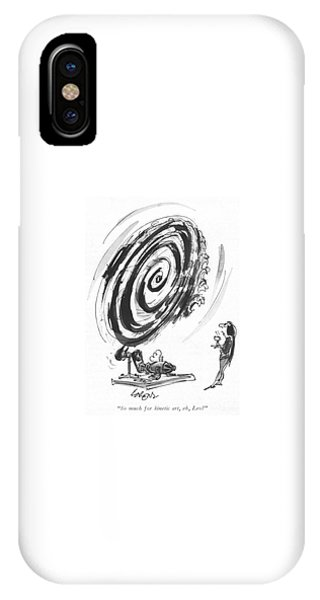 So Much For Kinetic Art IPhone Case