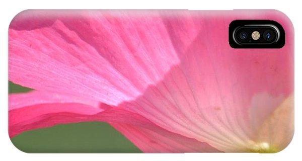 So Pretty Pink Poppy IPhone Case