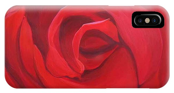 So Red The Rose IPhone Case