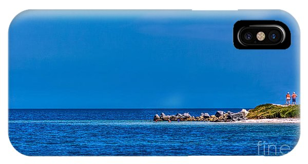 Sunbather iPhone Case - So This Is The Gulf Of Mexico by Marvin Spates