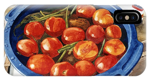 Soaking Tomatoes IPhone Case