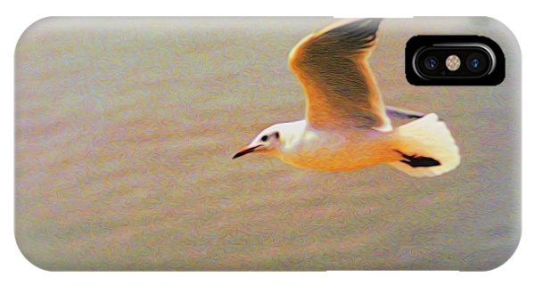 Soaring Gull IPhone Case