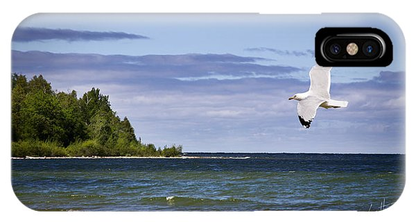 Soaring Over Door County IPhone Case