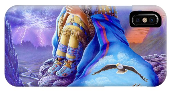 Andrew iPhone Case - Soaring Spirit by MGL Meiklejohn Graphics Licensing