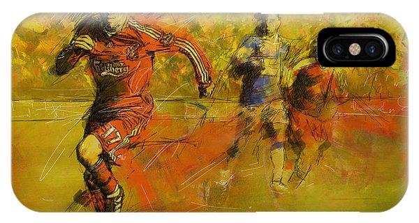Soccer  IPhone Case