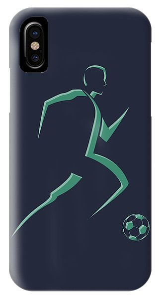 Soccer Player1 IPhone Case