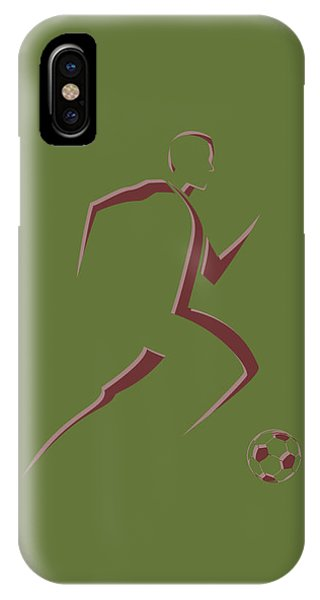 Soccer Player10 IPhone Case