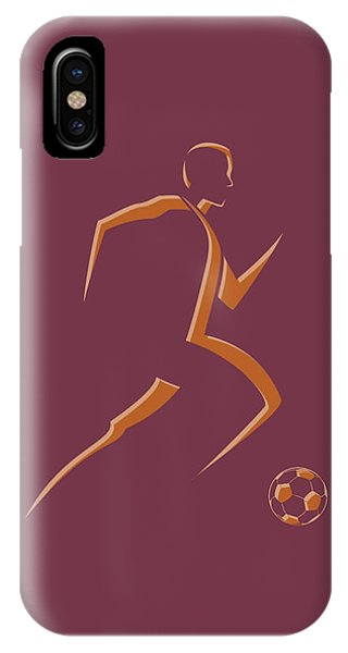 Soccer Player4 IPhone Case